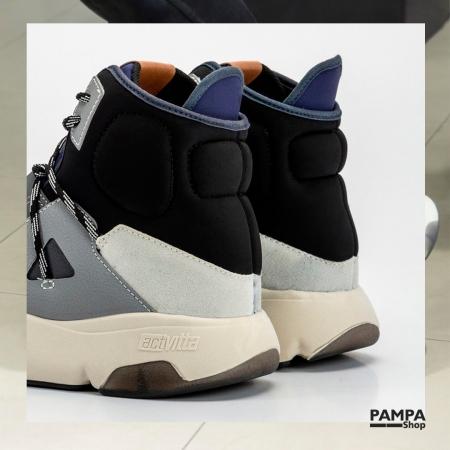 🤩 ¿Alguien dijo original, único y diferente? 🤩 Esta Zapa tipo bota con recortes es lo nuevo de los modelos #altagama de #Actvitta ¡están increíbles!  🔥 25% DE DESCUENTO 🔥 👉 Últimos días comprando con el #CódigoPromocional 25OFF en la #TiendaOnline  👉 💳 6 CUOTAS SIN INTERÉS   www.pampashop.com.ar   #zapatillashombre #zapatillasdeportivas #calzadohombre #zapateria