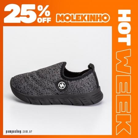 Las zapas más cómodas son #Molekinho 🧡 25% OFF 🧡  🔥 #HotWeek hasta el 16/05 💳 6 CUOTAS SIN INTERÉS 👉 Exclusivo para compras en pampashop.com.ar  #zapatillasniño #zapatillas #zapatillas2021 #calzadoniños #zapateria